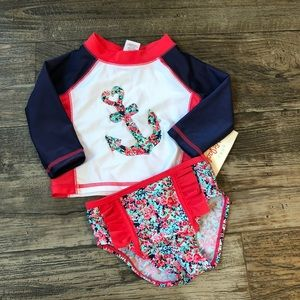 6-9 Month Anchor Swim Outfit